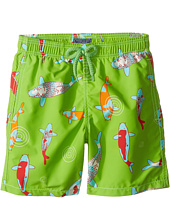 Vilebrequin Kids - Peaceful Carps Swim Trunk (Big Kids)