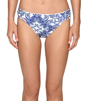 Bleu Rod Beattie - Driving Miss Paisley Lattice Side Hipster Bottom