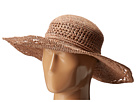 RHM6006 Crochet Raffia Oval Crown Sun Brim Hat