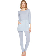 Midnight by Carole Hochman - Modal Pajama with Washed Satin