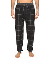 Kenneth Cole Reaction - Banded Flannel Pants