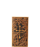 M&F Western - Scroll Embossed 3 Crosses Rodeo Wallet