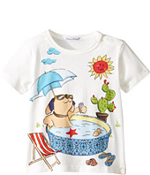 Dolce & Gabbana Kids - Mimmo Swimming Pool T-Shirt (Infant)