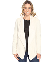Dylan by True Grit - Luxe Fur And Fleece Drape Jacket with Lining