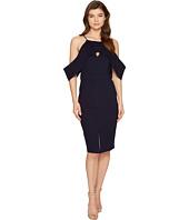 Adelyn Rae - Alessandra Knit Ponte Cold Shoulder Dress