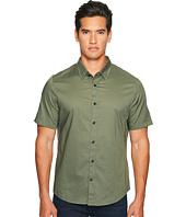 Vince - Reverse Placket Short Sleeve Voile Shirt