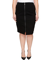 B Collection by Bobeau Curvy - Plus Size Brigid Ponte Skirt