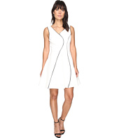 Adelyn Rae - Linsey Knit Ponte Fit and Flare Dress