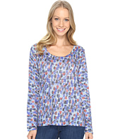 Nally & Millie - Spotted Print Long Sleeve Top
