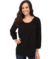 Scully - Honey Creek Nicole Simple Lace Trim Top