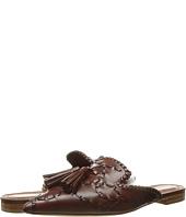Alberta Ferretti - Leather Braided Mule