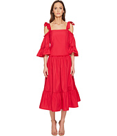 Alberta Ferretti - Cold Shoulder Dress