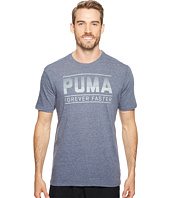 PUMA - Forever Faster Bar Graphic Tee