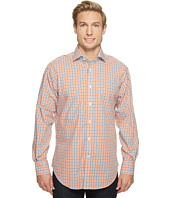 Thomas Dean & Co. - Long Sleeve Textured Check Sport Shirt