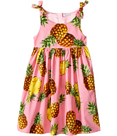 Dolce & Gabbana Kids - Tropical City Poplin Dress (Big Kids)