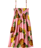 Dolce & Gabbana Kids - Tropical City Sleeveless Dress (Big Kids)