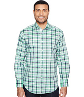 Thomas Dean & Co. - Long Sleeve Large Dobby Check Sport Shirt