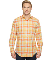 Thomas Dean & Co. - Long Sleeve Hombre Plaid Sport Shirt