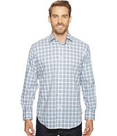 Thomas Dean & Co. - Long Sleeve Grid Plaid Sport Shirt