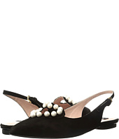 Boutique Moschino - Pearl Slingback Flat