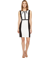 Tahari by ASL - Non-Functional Zipper Bodice Sleeveless Sheath
