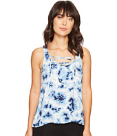 P.J. Salvage - Blue Batik Tank Top