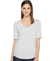 Lilla P - Elbow Sleeve Scoop Neck