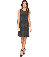 Sangria - Sleeveless Sequin Shift Dress