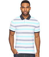 Original Penguin - Short Sleeve Birdseye Wide Stripe Polo
