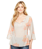 Dylan by True Grit - Palms Billowy Blouse