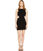 Christin Michaels - Grecia Sleeveless Bodycon Dress with Side Cut Outs