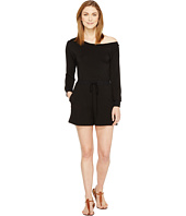 Culture Phit - Camella Luxe French Terry Off the Shoulder Romper