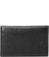 Polo Ralph Lauren - Pebble Leather Slim Card Id