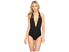 Parallels Banded Plunge One-Piece