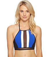JETS by Jessika Allen - Electrify High Neck Bikini Top
