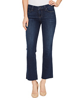 Paige - Riley Slim Crop Flare with Raw Hem in Larsen