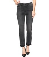 Paige - Hoxton Crop Rollup in Smoke Grey