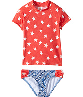 Billabong Kids - Starlight Short Sleeve Rashguard Set (Little Kids/Big Kids)