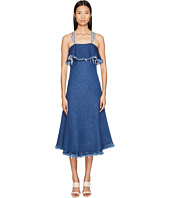 Sportmax - Dorina Long Sleeveless Denim Dress