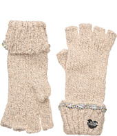 Betsey Johnson - On the Rocks Half Finger Gloves