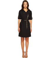 THOMAS WYLDE - Dahlia Cotton Short Sleeve Coat Dress