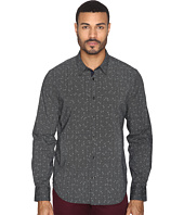 John Varvatos Star U.S.A. - Slim Fit Sport Shirt with Contrast Turnback Placket W434S4L