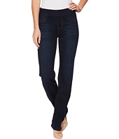 Liverpool - Jillian Pull-On Straight Leggings Silky Soft Denim in Dynasty Dark