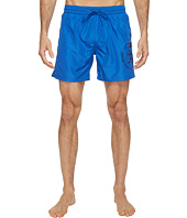 Diesel - Sandy Quick Dry Light Microfiber 6 inch Swim Shorts w/ Mohican Head Graphic WAKV