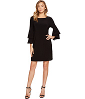 Laundry by Shelli Segal - Shift Dress w/ Knife Pleat Sleeve