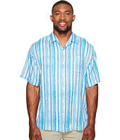 Tommy Bahama Big & Tall - Big & Tall Stripe Me to Paradise Camp Shirt