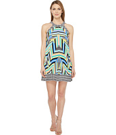Laundry by Shelli Segal - Printed Pleated Halter Dress