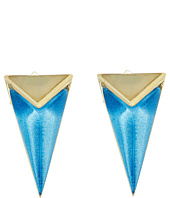 Alexis Bittar - Faceted Pyramid Post Earrings