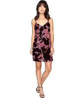 Brigitte Bailey - Kleo Spaghetti Strap Floral Velvet Dress