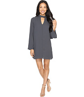 Brigitte Bailey - Karoline 3/4 Sleeve Shift Dress with Keyhole